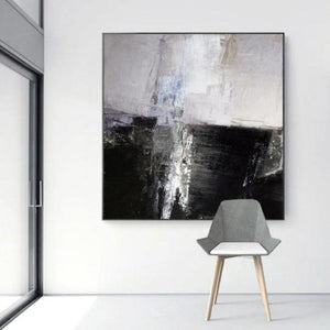 Urbane Abstract Oil Painting