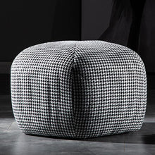 Load image into Gallery viewer, Ribbed Upholstered Ottoman