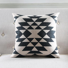 Load image into Gallery viewer, Abstract Linen Cotton Blend Pillow II