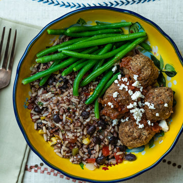 Tex-Mex Meatless Meatballs