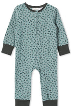 Load image into Gallery viewer, MILKY ANIMAL SLEEP ROMPER BLUE SURF