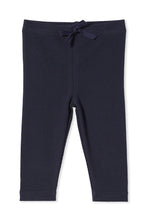 Load image into Gallery viewer, MILKY RIB BABY PANTS FRENCH NAVY