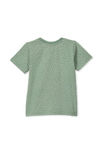 Load image into Gallery viewer, MILKY PALM TEE BASIL SILVER MARLE