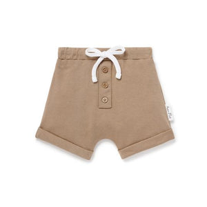 ASTER & OAK CLAY BUTTON SHORT