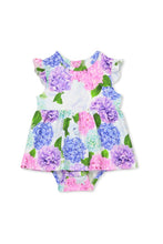 Load image into Gallery viewer, MILKY HYDRANGEA BABY DRESS