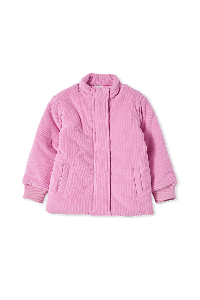 MILKY CORD BOMBER CANDY CORD