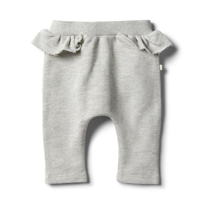 WILSON FRENCHY RUFFLE PANT OATMEAL SP