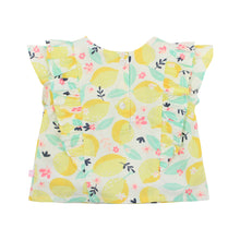 Load image into Gallery viewer, FOX & FINCH FRUITY LEMON BLOUSE
