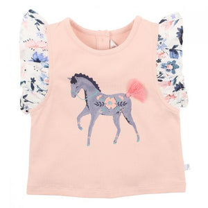 FOX AND FINCH SCANDI HORSE TEE 2