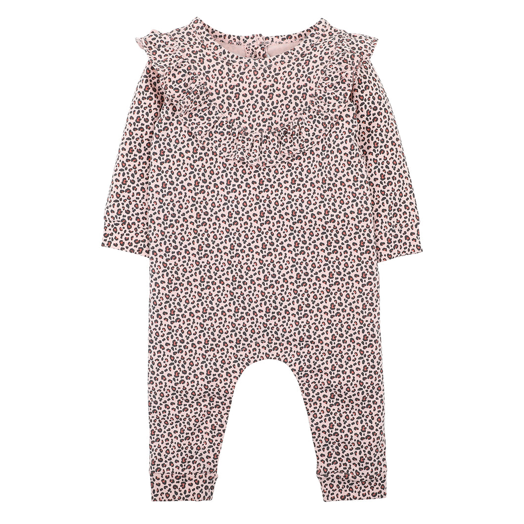 FOX & FINCH ANIMAL LEOPARD ROMPER
