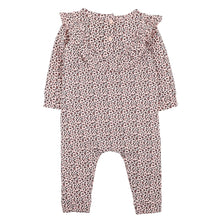 Load image into Gallery viewer, FOX & FINCH ANIMAL LEOPARD ROMPER