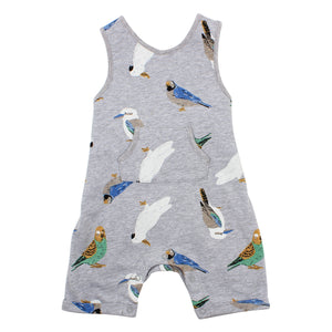 FOX & FINCH NATIVE PRINT OVERALLS