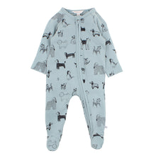 Load image into Gallery viewer, FOX & FINCH WATCH DOG ZIP ROMPER
