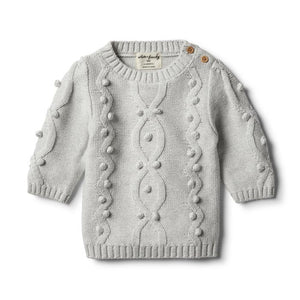 WILSON FRENCHY KNITTED JUMPER BAUBLES GR