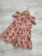 Load image into Gallery viewer, KORANGO FIFTIES FLORAL DRESS PINK