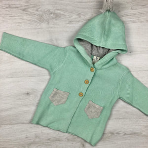 KORANGO AUSSIE BUSH HOODED KNIT MINT
