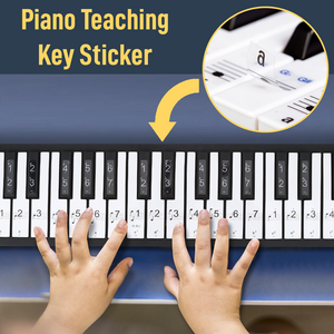 Piano Teaching Key Sticker