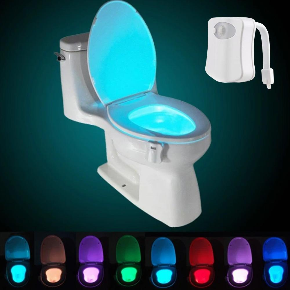 LED Toilet Seat Induction Light