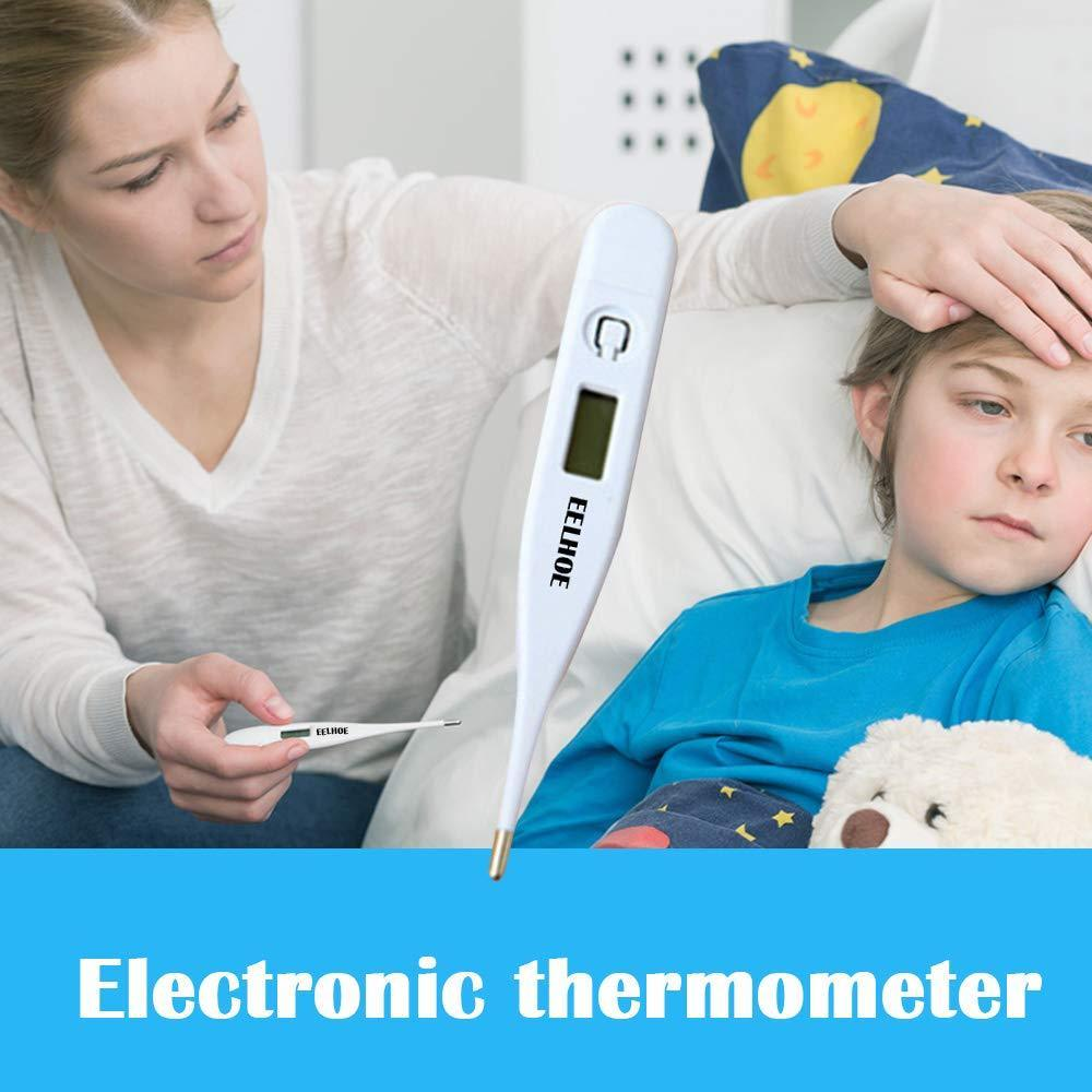 Digital Medical Baby Thermometer for Oral Rectal & Underarm