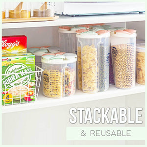Multi-Compartments Scale-Assistant Grains Container