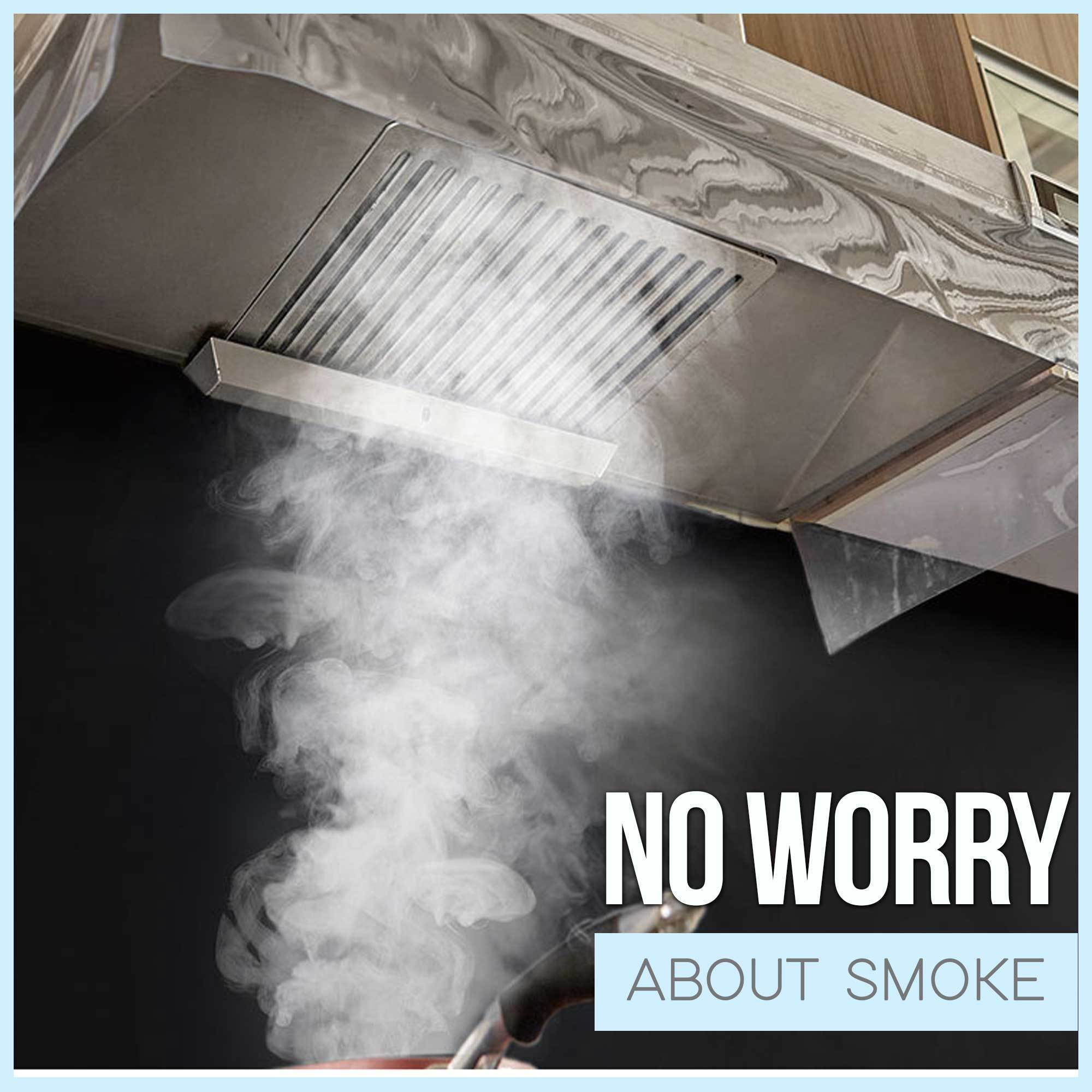 Range Hood Anti-Smoke Cover