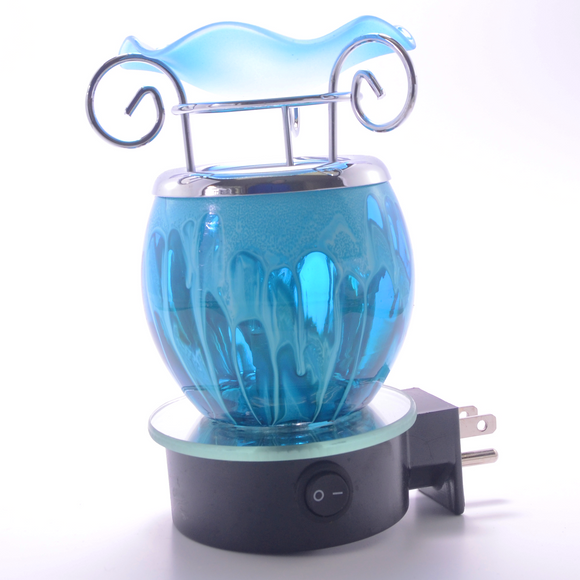 Blue Lantern Plug In Lamp   ON SALE