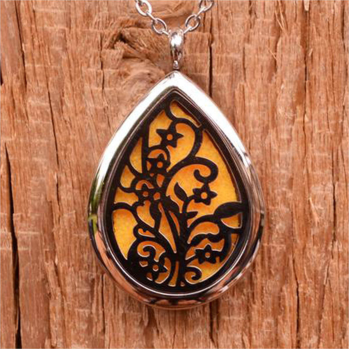 Filigree aroma pendant necklace finesse home fragrances filigree aroma pendant necklace aloadofball Gallery