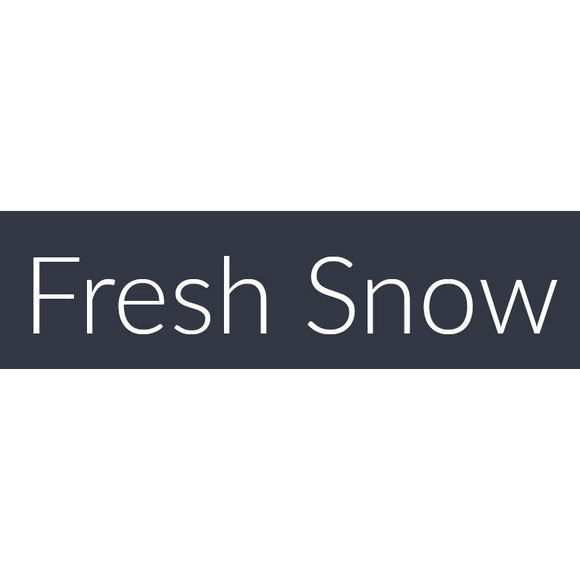 Fresh Snow Fragrance Oil