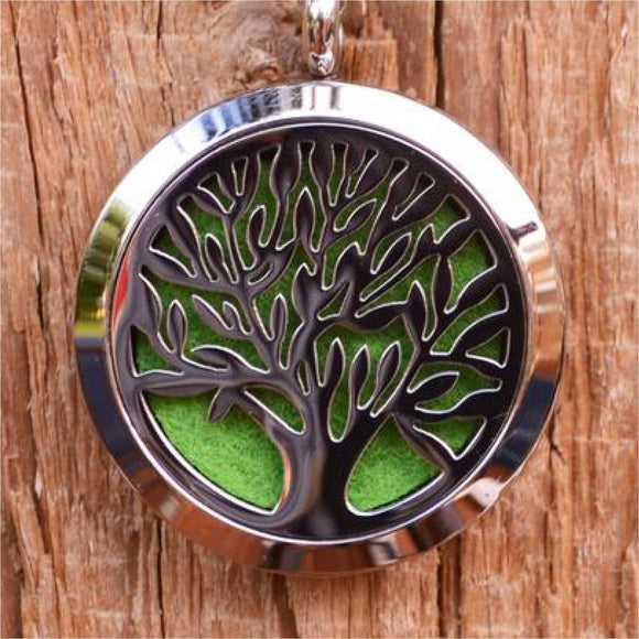 Tree Of Life Aroma Pendant Necklace