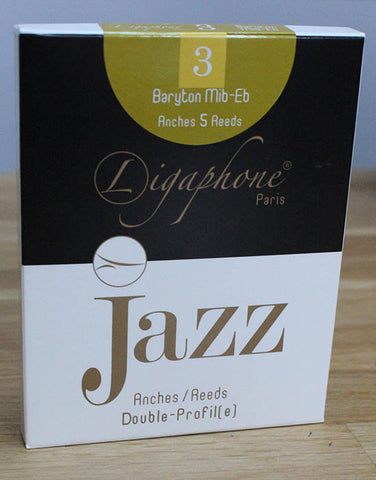 "Baritone - JAZZ series - 5 ""Double-Profile"" reeds"