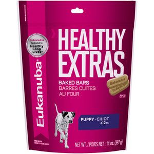 Eukanuba Healthy Extras 1-12 Month Puppy Growth Dog Biscuits