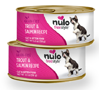 Nulo FreeStyle Grain Free Trout and Salmon Recipe Canned Cat Food