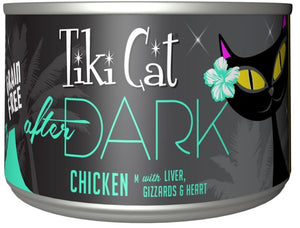 Tiki Cat After Dark Grain Free Chicken Canned Cat Food