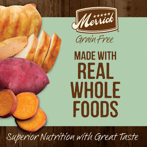 Merrick Grain Free Senior Real Chicken & Sweet Potato Recipe Dry Dog Food