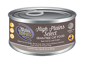 NutriSource Grain Free High Plains Select Canned Cat Food
