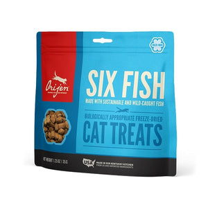 ORIJEN Grain Free Six Fish Freeze Dried Cat Treats