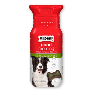 Milk-Bone Good Morning Daily Total Wellness Vitamin Dog Treats