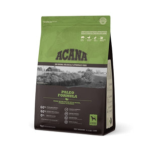 ACANA Paleo Formula Grain Free Dry Dog Food
