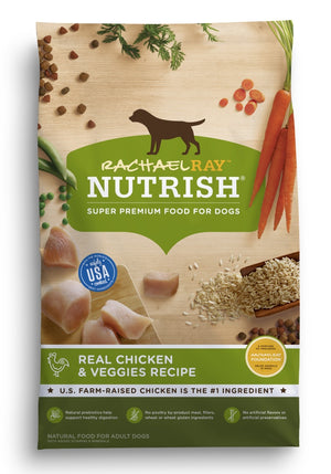 Rachael Ray Nutrish Natural Chicken & Veggies Recipe Dry Dog Food