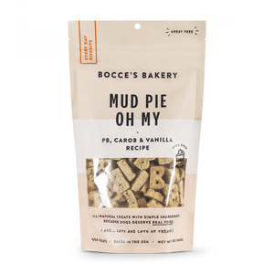 Bocce's Bakery Every Day Mud Pie Oh My Biscuit Dog Treats