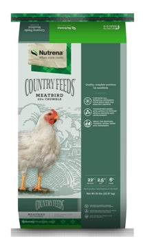 Country Feeds Meatbird Crumble 50lbs