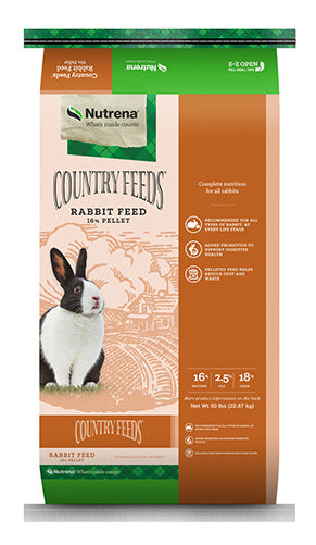 Country Feeds Rabbit Pellet 50lbs
