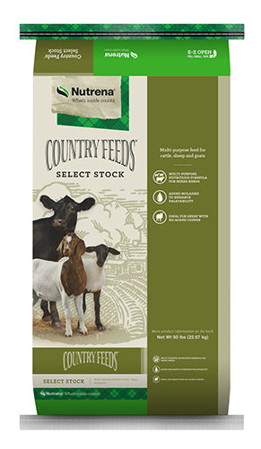 Country Feeds Select Stock 16% Textured