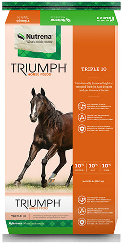 Triumph Triple 10 Textured Horse Feed 50lb