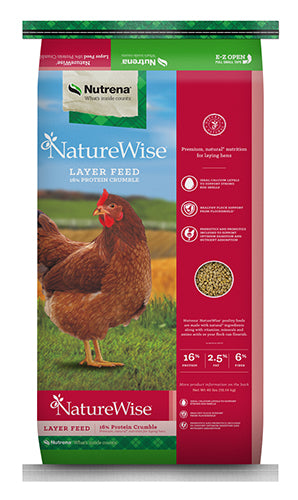 Naturewise Layer Crumble 16% 50lbs