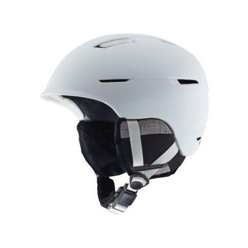 Anon Auburn Mips Helmet, Marble White - First Tracks Boardstore
