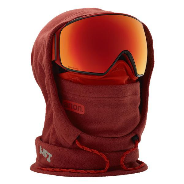 Anon MFI XL Hood Clava Red - First Tracks Boardstore