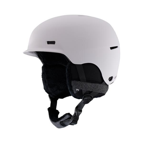 Anon Raven Helmet, Light Gray-Helmet-Anon-S-
