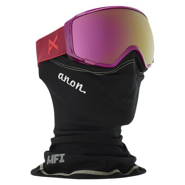 Anon Wm1 Mfi Goggle Magenta W/ Sonar Pink + Sonar Infrared - First tracks Boardstore