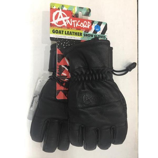 Anticorp All Terrain Leather Glove-Glove-Anticorp-Black-S-
